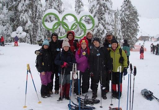 group ski