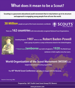 What does it mean to be a Scout?