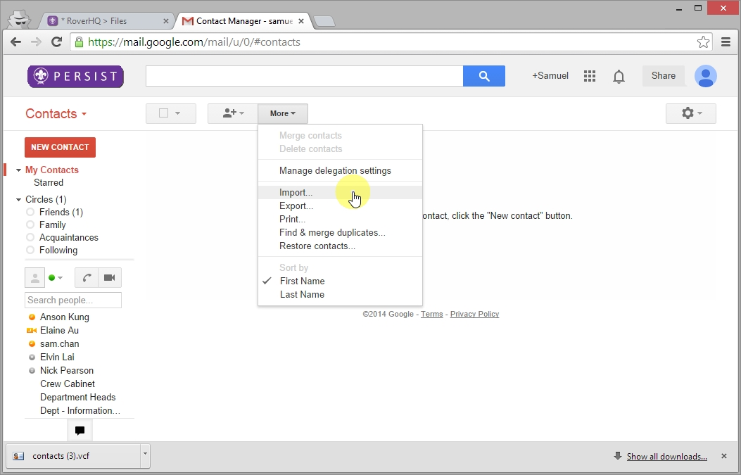 Import Contacts to Google_07