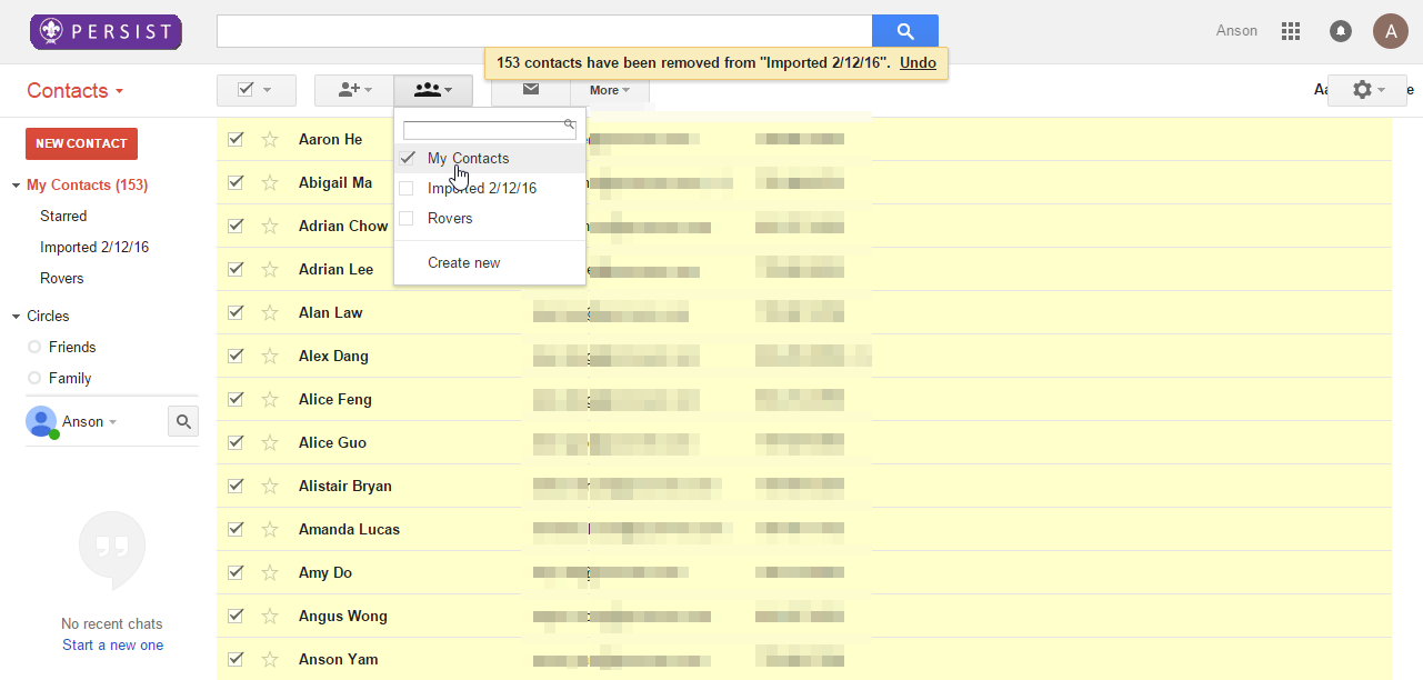 how to move phone contacts to google account