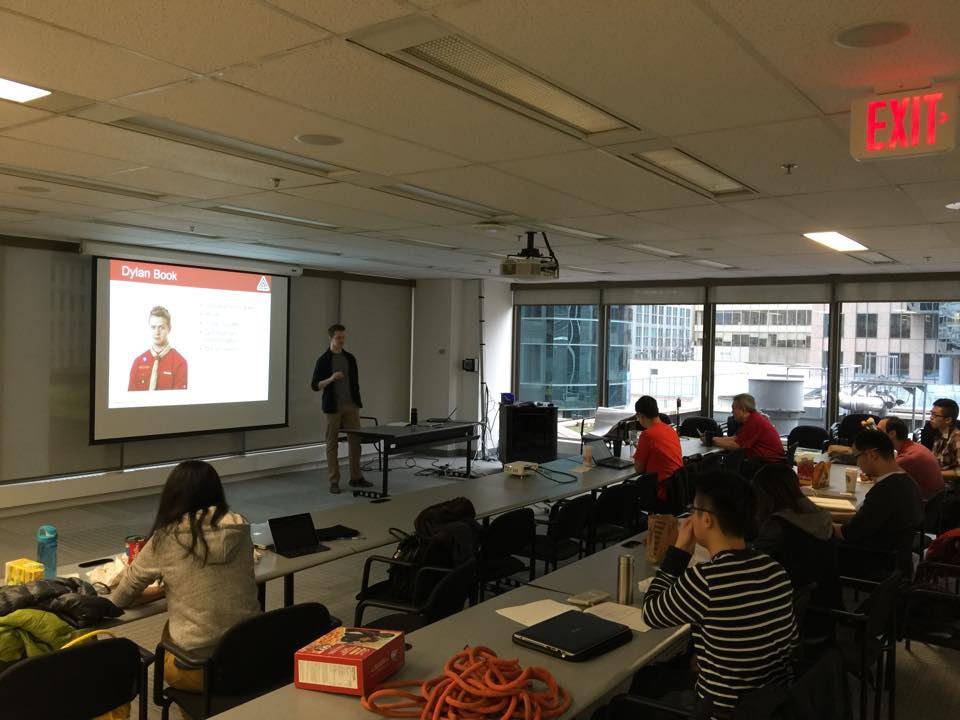 Presentations practice run