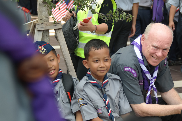 World Scouting, Creative Commons, https://www.flickr.com/photos/worldscouting/14263741417