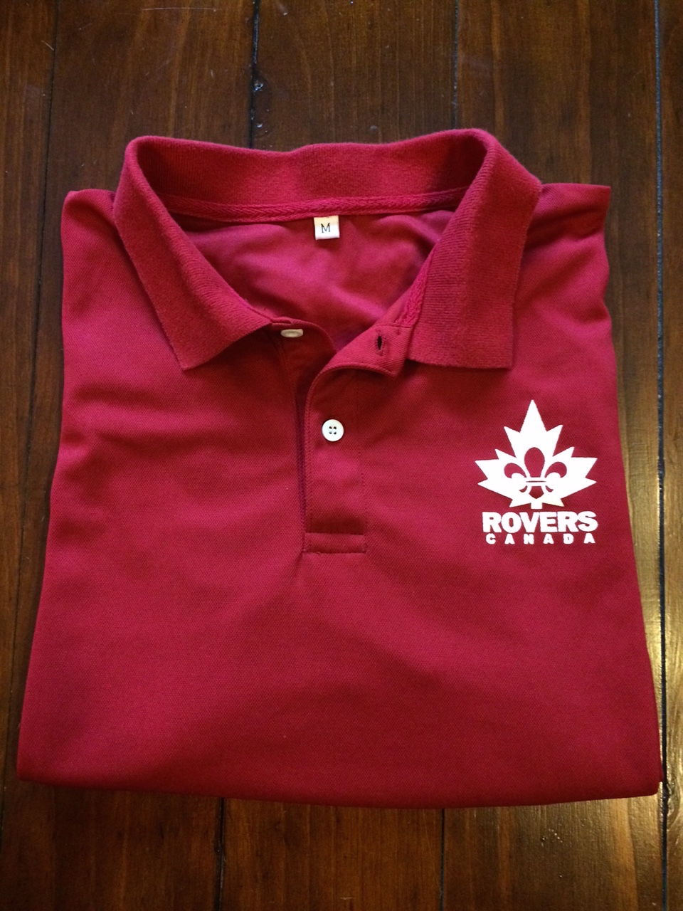 Our red Rover Polo's are a sensible activity uniform option.