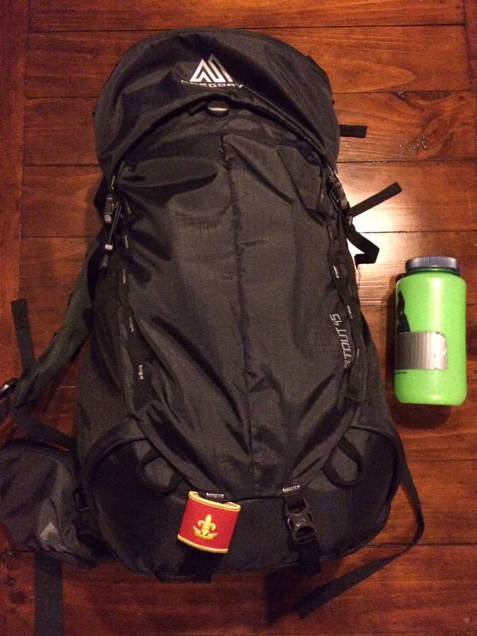 A well packed bag with individual and contingent gear can fit into a 45L pack.