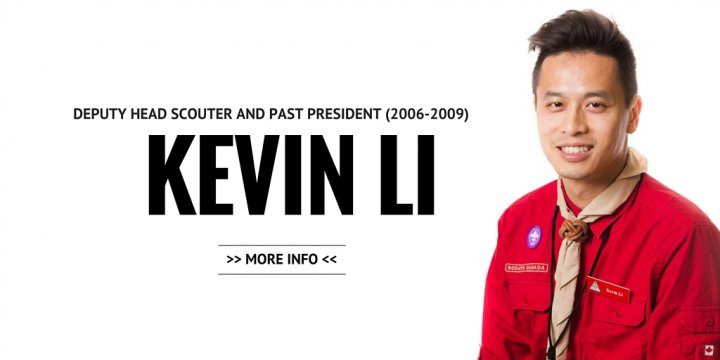 Kevin Li, Deputy Head Scouter, Co-founder, Past President