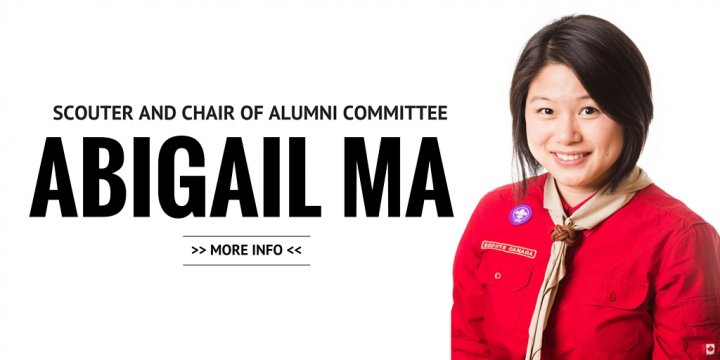 Abigail Ma, Scouter and Chair of Alumni Committee
