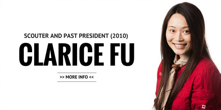 Clarice Fu, Scouter and Past President